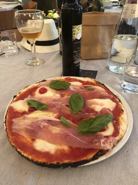 Rim pizza