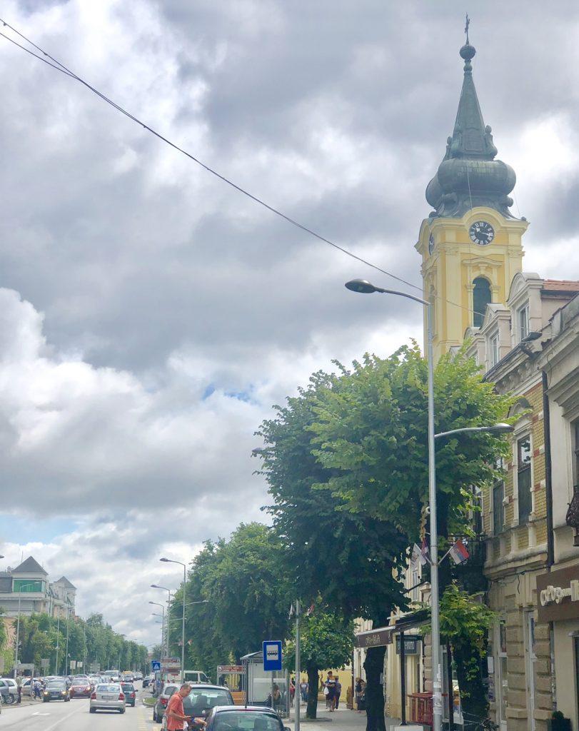 centar Rume, glavna ulica